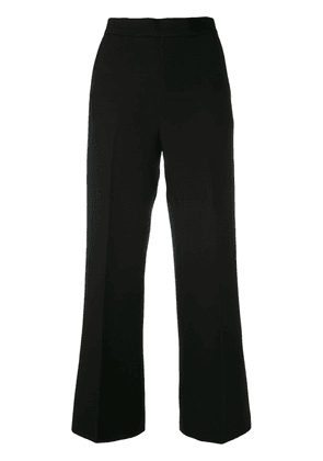 Fendi wide leg tailored trousers - Black