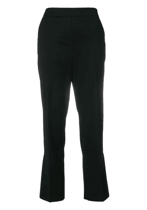 Dorothee Schumacher cropped flared trousers - Black