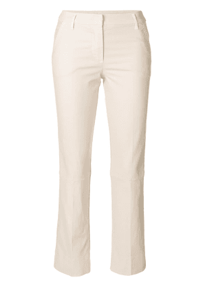 Dorothee Schumacher cropped trousers - Neutrals