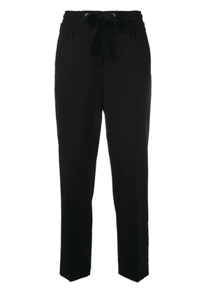 Dorothee Schumacher drawstring cropped trousers - Black