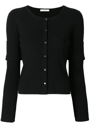Dorothee Schumacher fitted knitted cardigan - Black