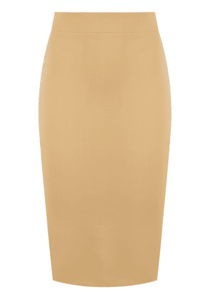 Gloria Coelho Double Tech skirt - Yellow
