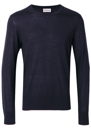 Moncler loose-fit sweater - Blue