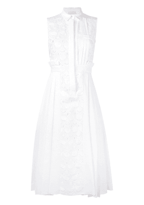 Capucci embroidered dress - White