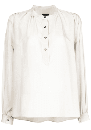 Isabel Marant loose fit button shirt - Neutrals