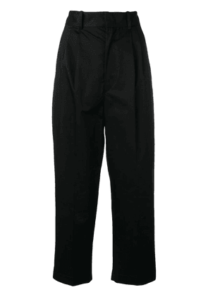 Isabel Marant fitted waist trousers - Black