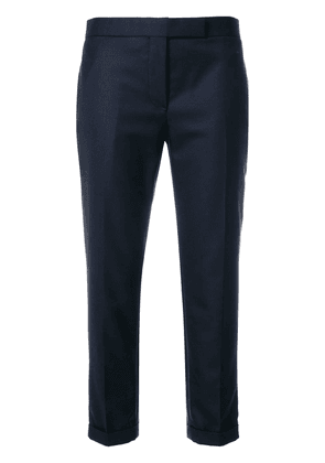 Thom Browne cropped tailored trousers - Blue