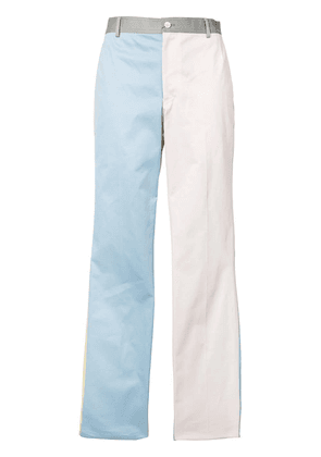 Thom Browne block colour tapered trousers - Multicolour