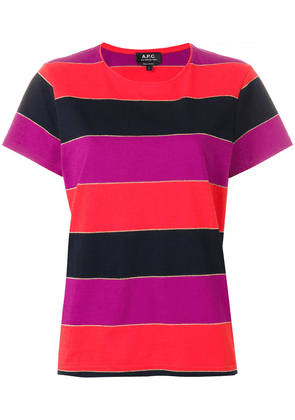 A.P.C. striped T-shirt - Multicolour