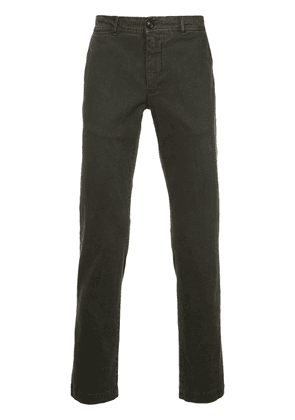 Moncler classic chinos - Green