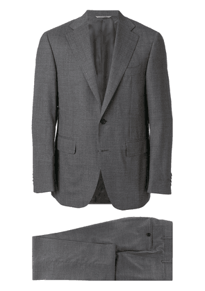 Canali slim fit two-piece suit - Grey