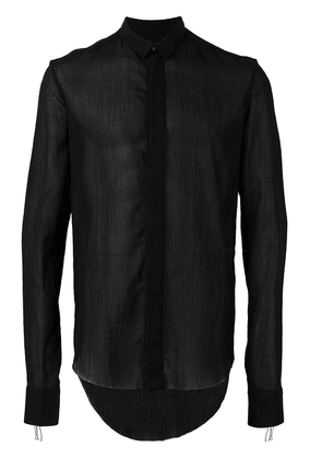 Cedric Jacquemyn slim-fit shirt - Black