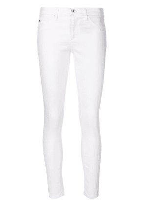 Ag Jeans super skinny cropped jeans - White