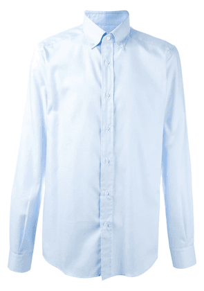 Fashion Clinic Timeless classic plain shirt - Blue