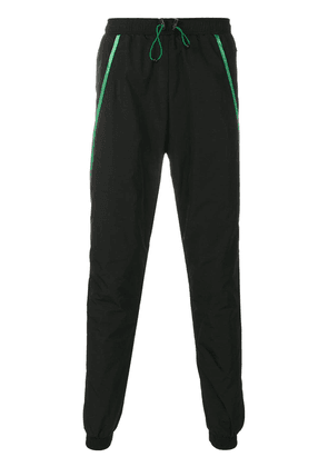 Cottweiler striped track trousers - Black