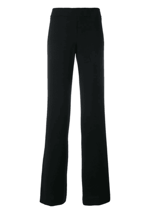 D.Exterior flared trousers - Blue