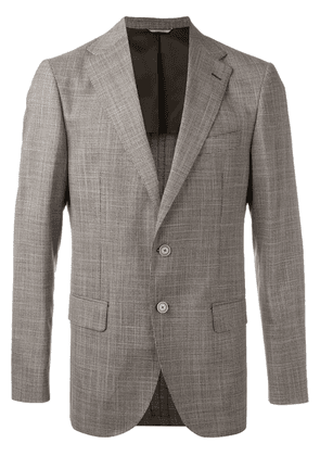 Fashion Clinic Timeless single-breasted blazer - Brown