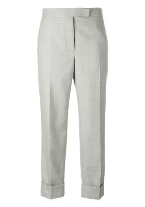Thom Browne tailored cropped trousers - Grey