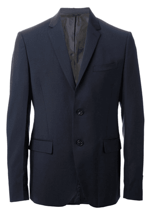 Fendi classic slim fit suit - Blue
