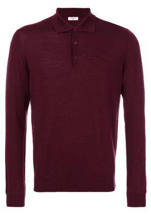 Fashion Clinic Timeless Henley jumper - Pink
