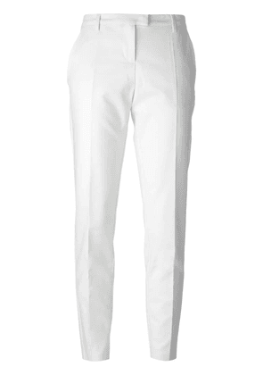 Moncler slim tailored trousers - Neutrals
