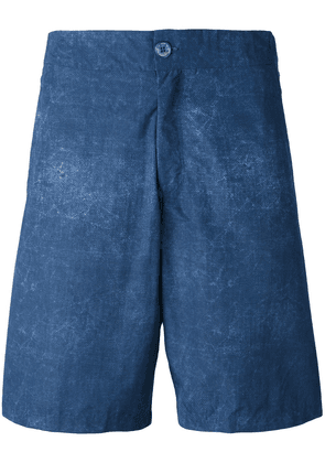 Fashion Clinic Timeless washed swim shorts - Blue