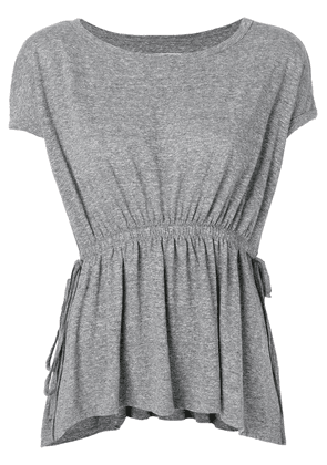 Current/Elliott ruched detail T-shirt - Grey
