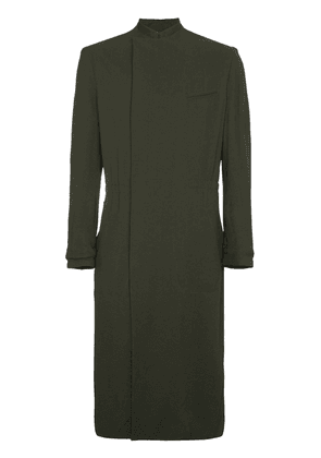 Haider Ackermann Long coat with drawstring waist - Green