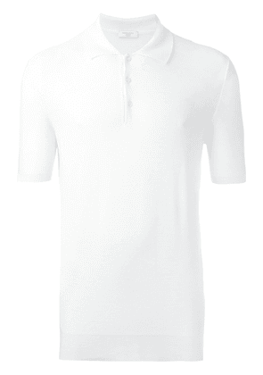 Fashion Clinic Timeless shortsleeved polo shirt - White