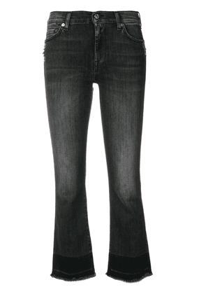 7 For All Mankind cropped bootcut jeans - Grey