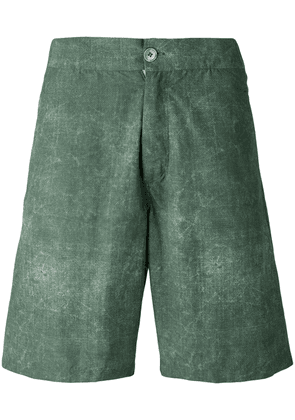 Fashion Clinic Timeless washed swim shorts - Green