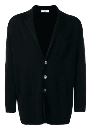 Fashion Clinic Timeless three button cardigan - Black