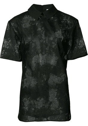 Carven lace shirt - Black
