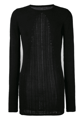 A New Cross crew neck sweater - Black