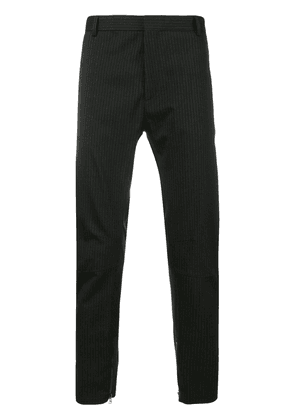 Lanvin striped trousers - Black