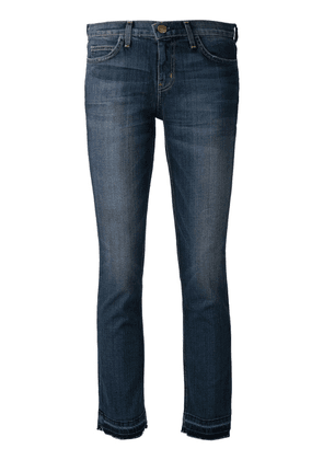 Current/Elliott 'The Cropped Straight' jeans - Blue