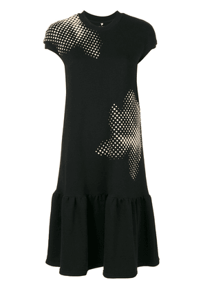 Ioana Ciolacu T-shirt drop waist dress - Black
