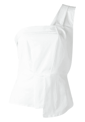 Erika Cavallini one-shoulder top - White