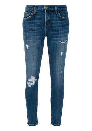 Current/Elliott ripped skinny jeans - Blue