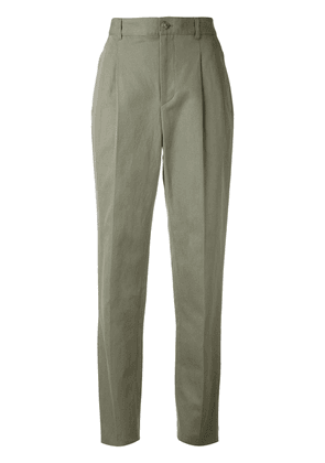 A.P.C. pleated trousers - Green