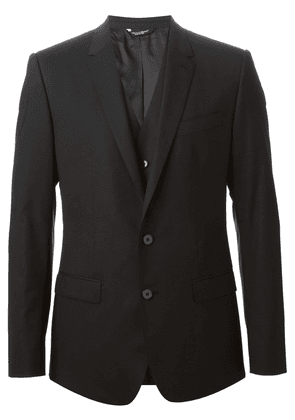 Dolce & Gabbana classic three-piece suit - Black