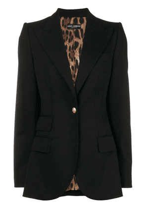 Dolce & Gabbana classic fitted blazer - Black