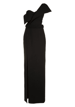 Brandon Maxwell Foldover gown - Black
