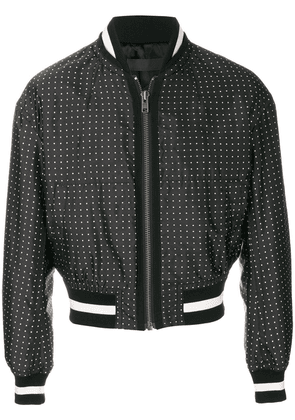 Haider Ackermann cropped bomber jacket - Black