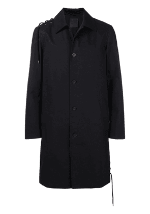 Craig Green button single-breasted coat - Black
