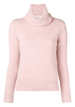 Blugirl roll-neck fitted sweater - Pink