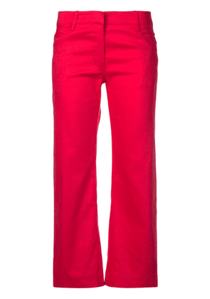 A.L.C. Teddy cropped trousers - Red