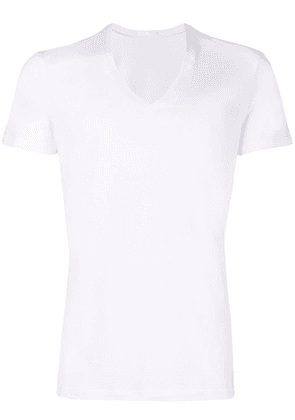 La Perla Skin V-neck T-shirt - White