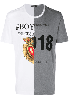 Dolce & Gabbana Boy Summer T-shirt - Grey