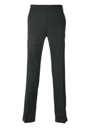 Canali fitted Super 150 trousers - Grey